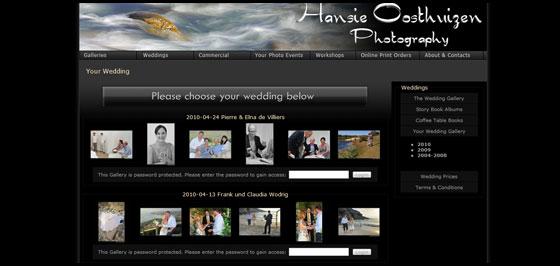 Hansie Oosthuizen Photography - Your Wedding Gallery