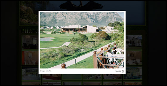 Gallery page on Mulligans Guest Lodge