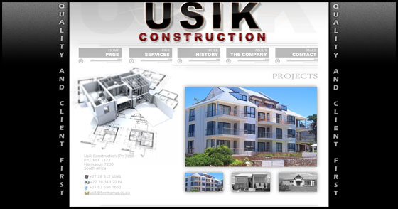 Usik Construction - Home Page