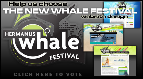 Vote for the new Whale Festival website design
